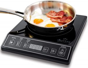 1800W Portable Induction Cooktop Countertop Burner, Black 9100MC